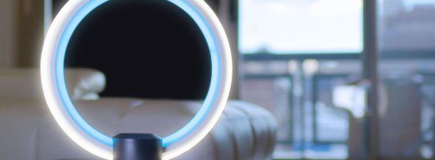 Esta lampara es el mejor ejemplo de integración de inteligencia artificial en el hogar