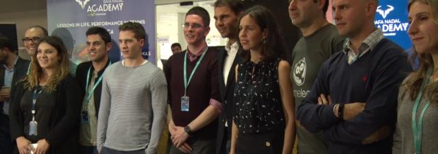 Rafa Nadal y Telefónica Open Future_ buscan startups para potenciar la academia