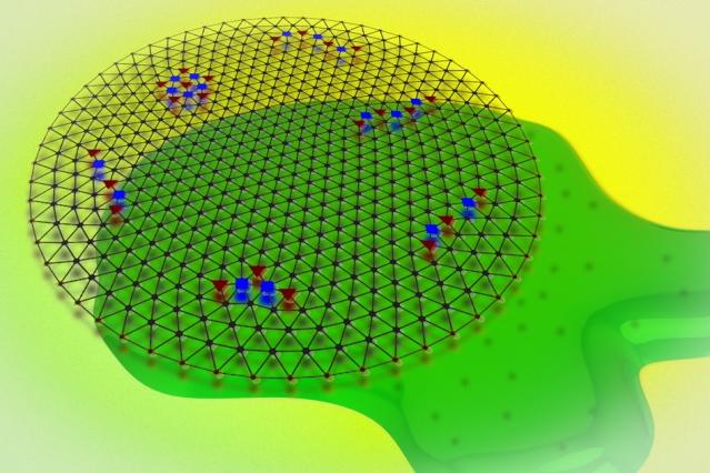Derretir cristales de electrones