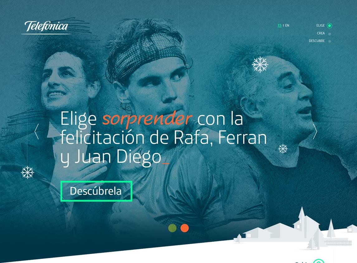 Telefónica lanza su campaña de Navidad 'Más unidos que nunca'