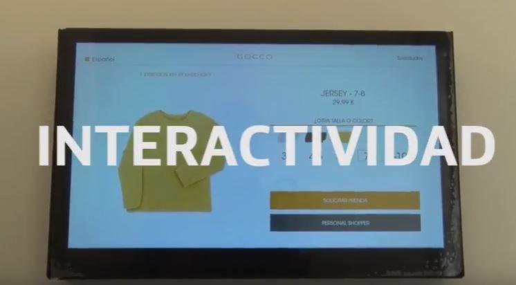 GOCCO y Telefónica presentan la primera tienda conectada de ropa infantil y juvenil