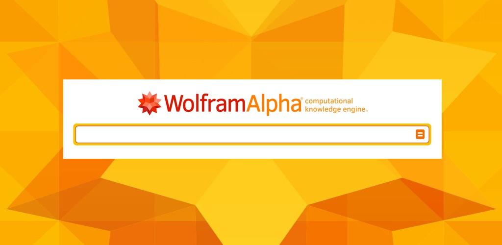 Qué encontrarás en Wolfram Alpha y no en Google