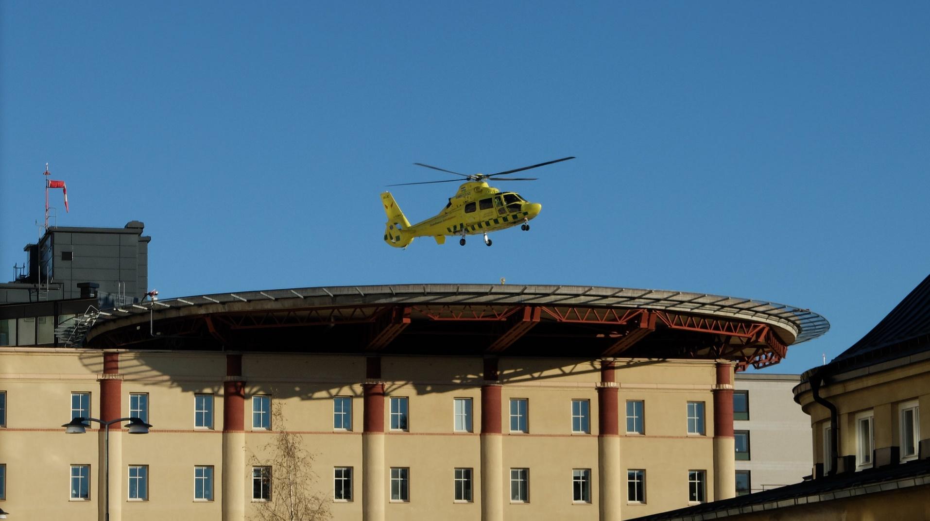 Esta ambulancia-dron ha tenido éxito en su primer vuelo de prueba