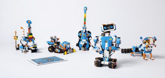 Boost es el nuevo kit sencillo de robótica y programación de Lego