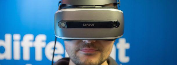 El nuevo kit de realidad de Lenovo es el primero compatible con Windows Holographic