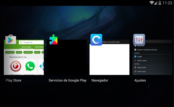 Nox App Player Tab