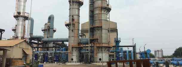 Una planta química de la India convierte dióxido de carbono en bicarbonato