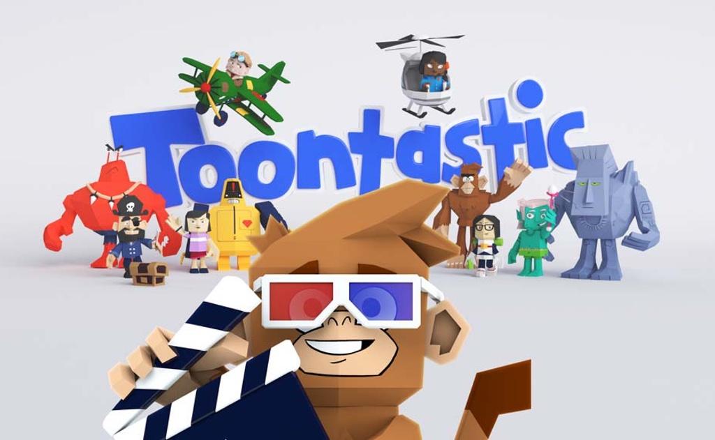 Crea tus propios dibujos animados con Toontastic 3D