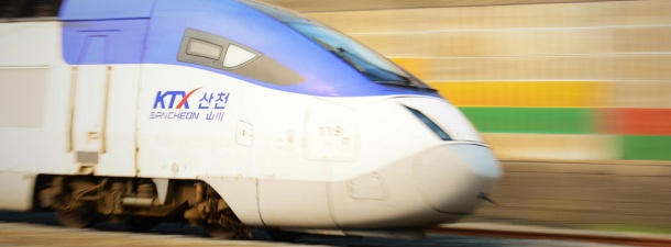 Corea del Sur planea construir un tren que viajará a 1.000 Km/h