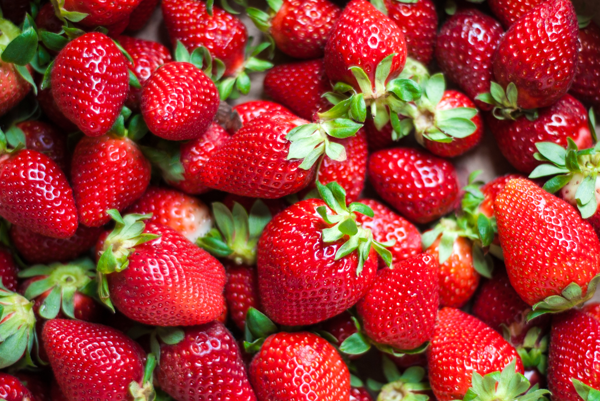 Zaragoza se cubre de fresas que miden la contaminación