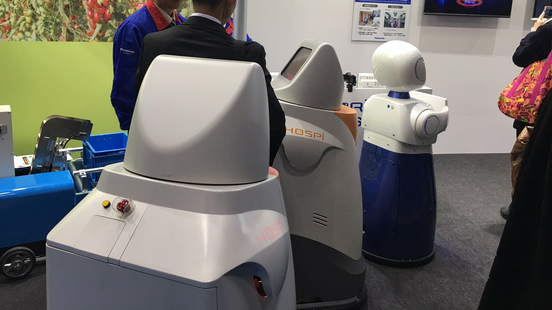 Panasonic prueba su robot-camarero en un hotel y un aeropuerto
