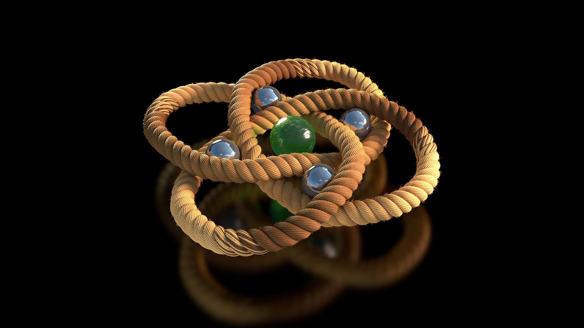 Crean un nudo molecular para diseñar materiales más ligeros y flexibles