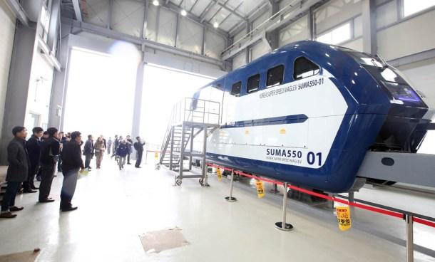 tren que viajará a 1.000 Km/h