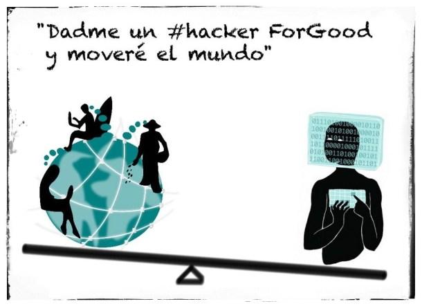 Dadme un #Hacker ForGood y moveré el mundo.  HackForGood 2016. Sede de Alicante.
