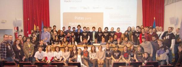 Ven a HackForGood y mueve el mundo