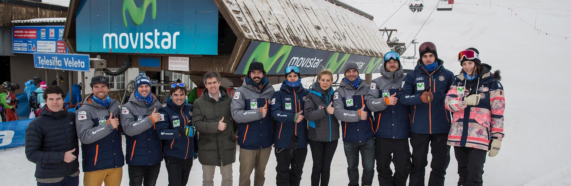Movistar será patrocinador tecnológico del Campeonato del Mundo en Sierra Nevada