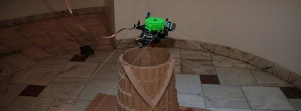 Este prototipo de impresora 3D portátil crea muebles en cualquier habitación