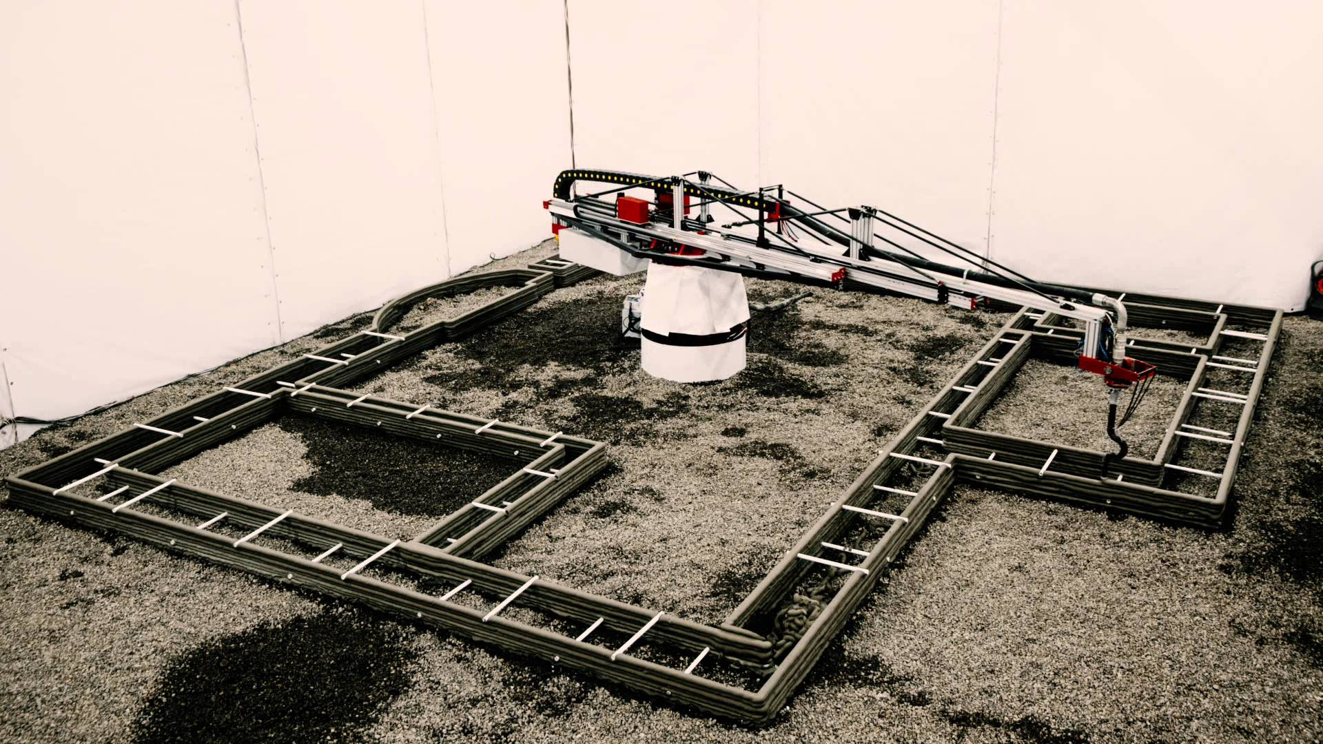 Una casa de 38 metros cuadrados impresa en 3D en menos de 24 horas