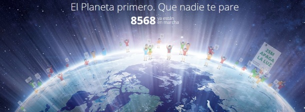 Telefónica se suma a 'La Hora del Planeta' para concienciar a la sociedad sobre el cambio climático