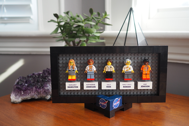 Lego recuerda con una colección a las mujeres olvidadas en la exploración espacial