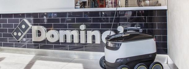 Los repartidores de pizza robots ya están aquí