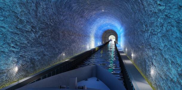 Túnel para barcos