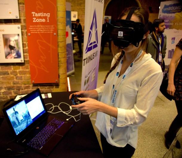 Realidad virtual para formación