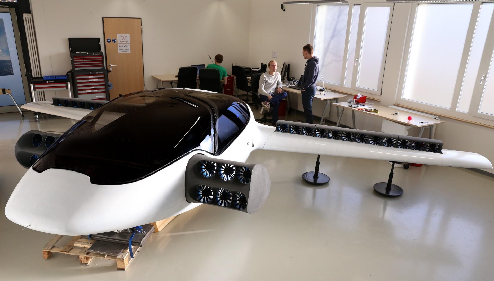 Esta empresa alemana quiere sustituir los taxis por vehículos voladores