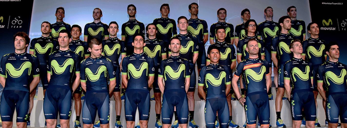 Movistar Team revoluciona el ciclismo de la mano del Big Data