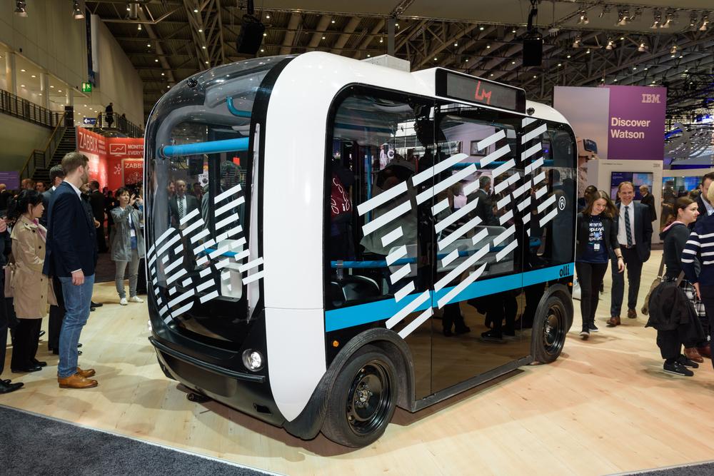 Olli: el autobús para personas discapacitadas