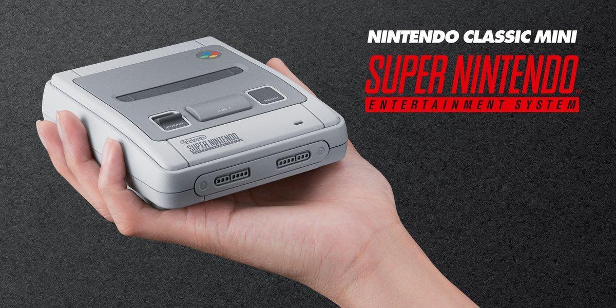 Nintendo juega la carta esperada y lanza la SNES Classic Mini