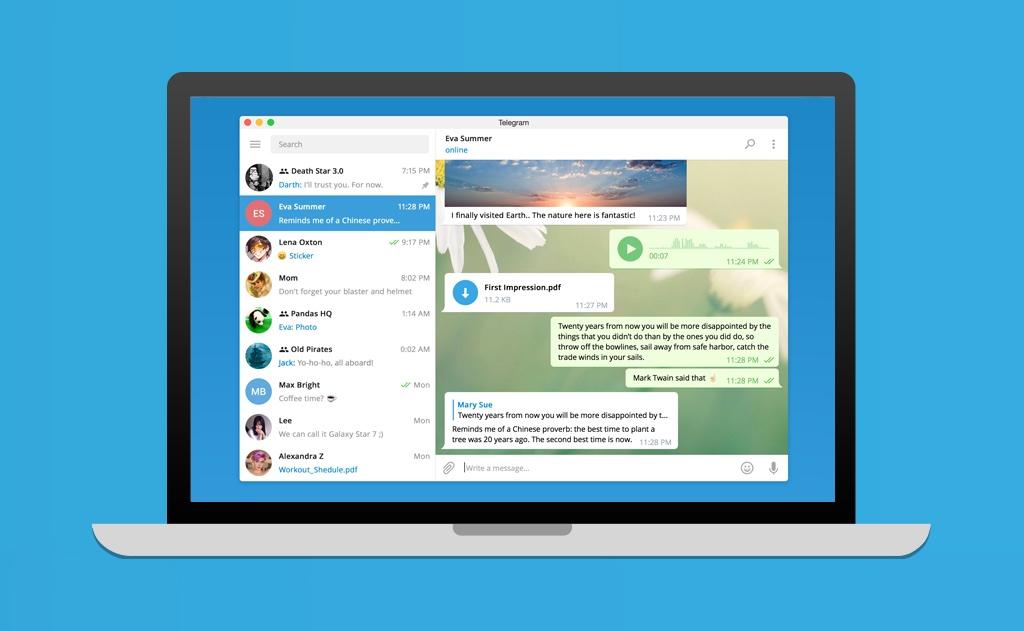 Cómo usar Telegram para almacenar toda clase de archivos en la nube