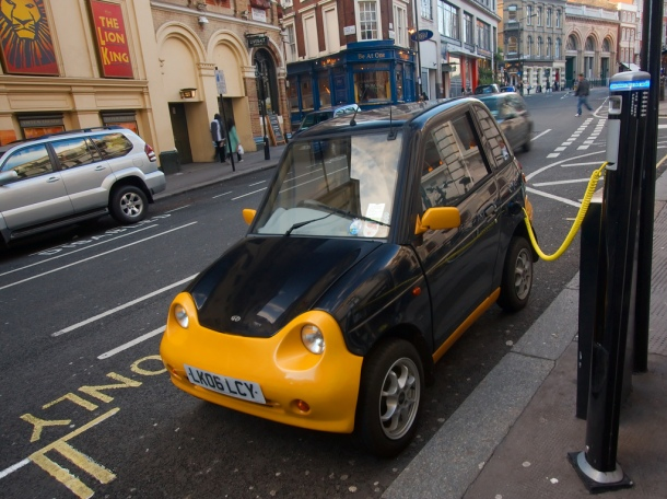 carga inalámbrica de coches eléctricos