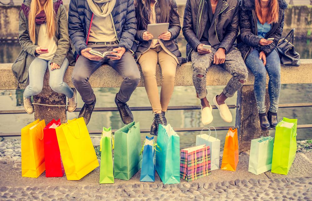 Ir de tiendas y pasear por el futuro