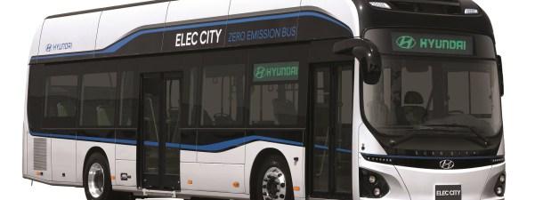 Hyundai empezará a fabricar un autobús eléctrico que se carga en una hora