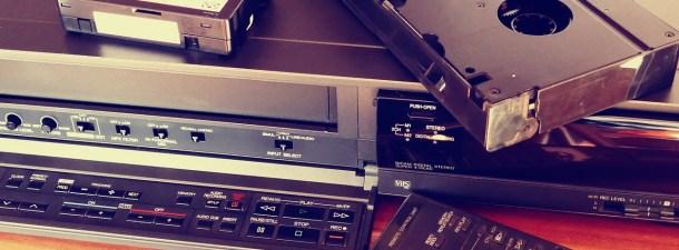 SOS VHS, al rescate de las cintas de vídeo