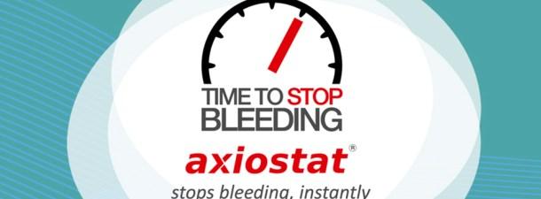 Axiostat detiene las hemorragias en tan solo unos segundos