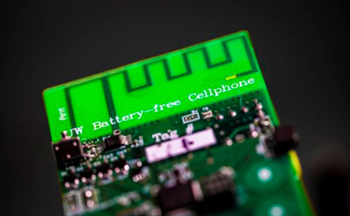 El primer teléfono sin batería ya es una realidad