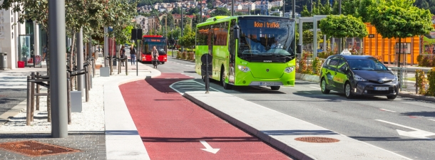 ART, el transporte público inteligente que funciona sin conductor