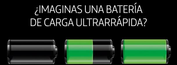 ¿Imaginas una batería de carga ultrarrápida?
