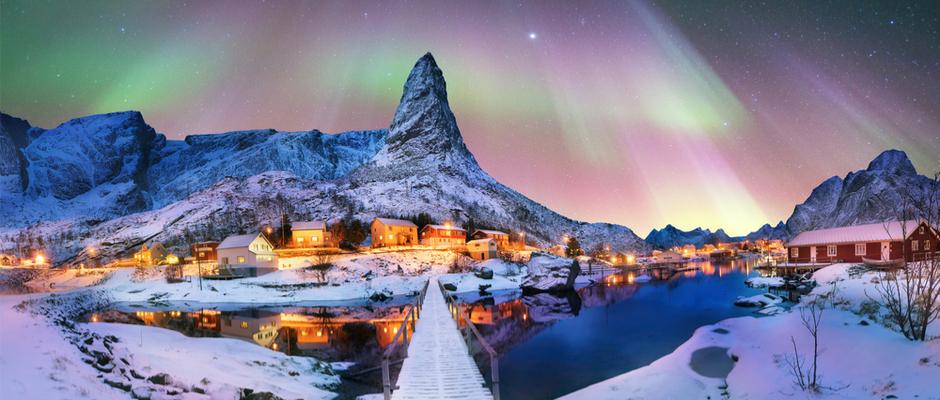 Auroras boreales, una buena opción para los que aún no se han ido de vacaciones