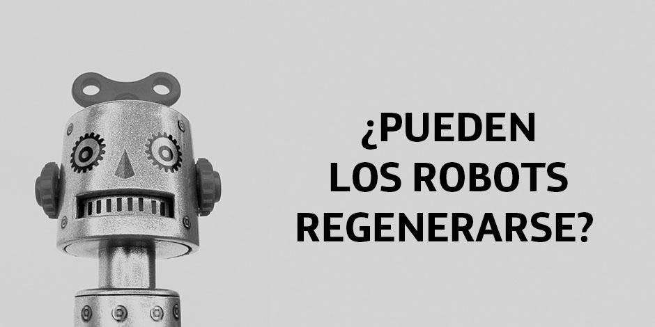 Este robot puede regenerarse cuando se corta