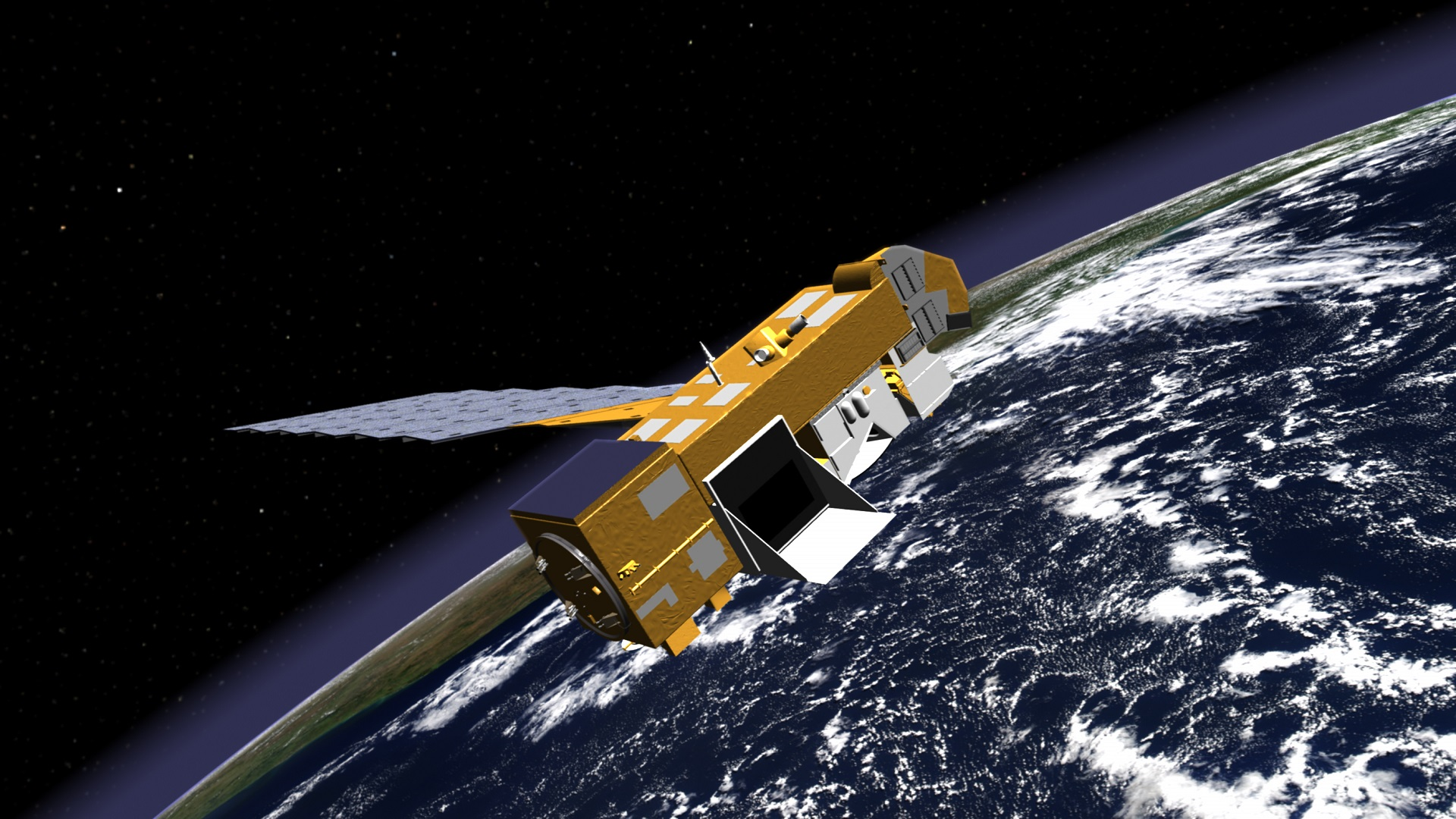 Una estación espacial para reciclar la basura que orbita alrededor de la Tierra