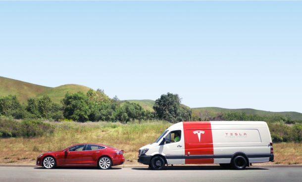 Servicio de reparación de Tesla