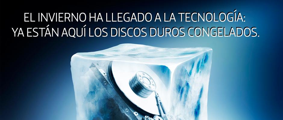 El invierno ha llegado a la tecnología: ya están aquí los discos duros congelados