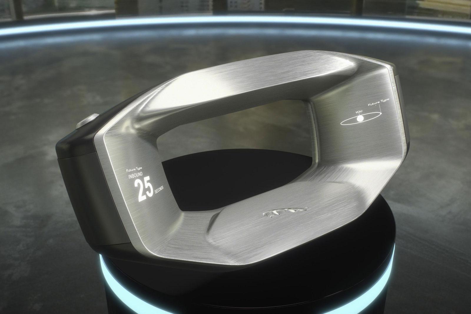 Así es el volante del futuro que Jaguar planea para coches autónomos