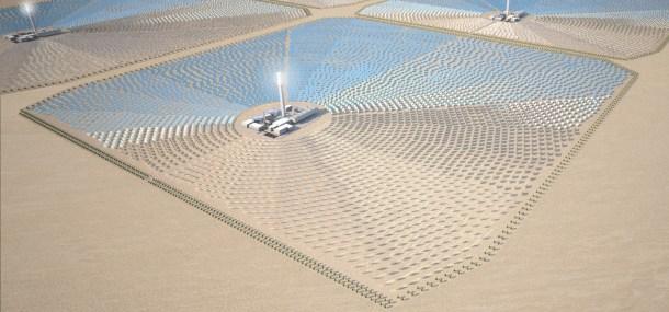 Energía solar a Europa
