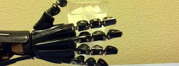 Una piel artificial permite a robots diferenciar entre frío y calor