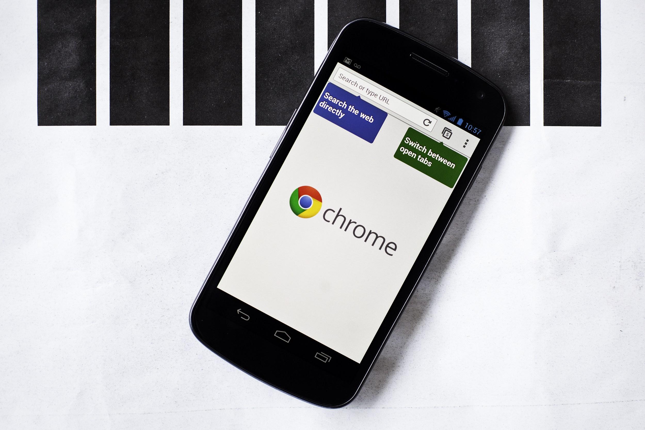 Por qué abandonar Chrome en Android por otro navegador