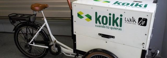 Koiki: mensajería sostenible y a la carta